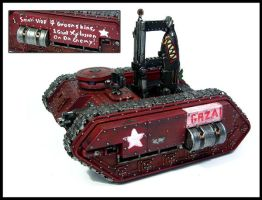 Grot Rebellion GAZA Rokit Tank by Proiteus