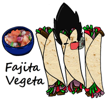 Fajita Vegeta by WizardofFalalas