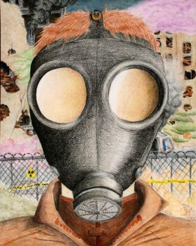 Gas Mask by AbbyDoo