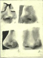 Nose Study by darkgoth678