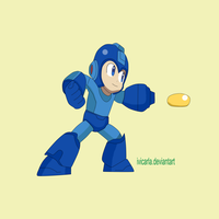 Nintendo megaman  fan art by ivicarla
