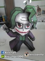 joker papercraft by kiri-chan1990