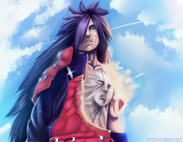 Naruto 575 Madara by Plaitum