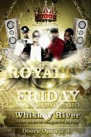 Royalty Party Flyer by V1sualPoetry