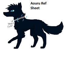 Aouru Reference Sheet by Hyperactive-Blue