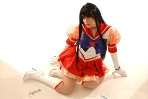 Eternal Sailor Mars Cosplay by Ivycosplay