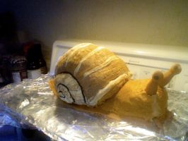 Snail cake by MomIsMean
