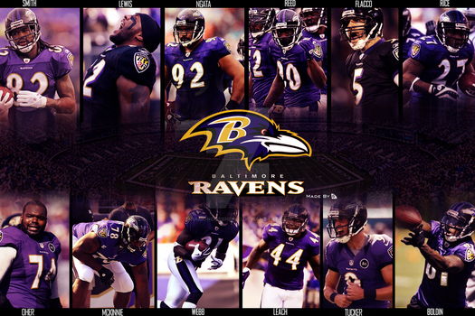 Baltimore Ravens 2012-2013 by DiamondDesignHD