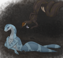 The Romance Of Serpents by PharaohQueen