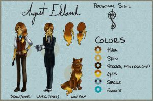 Character Sheet: August by ShadesSagacious