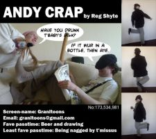 Andy Crap ID by Granitoons