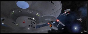 Starbase 27 - Bodiam Station by celticarchie