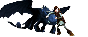 Toothless and Hiccup Wallpaper by Blackpassion777