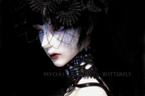 Psycho Butterfly by Sarqq