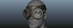 Pyrovision Goggles (for 3D printer) by zenaro147
