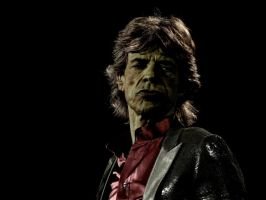 Mick Jagger Zombie by Sass-Haunted