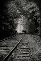 train tracks by AmeenS