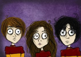 Harry Potter Fanart by xLifeIsArt