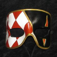 Harlequin Mask by TasteOfCrimson