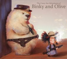 Binky and Olive:Western by frankieperez24