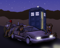 Back to the Tardis by paper-pony