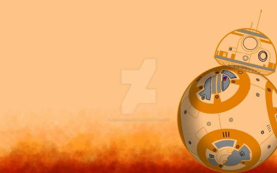 BB8 HD Wallpaper  by AllHaleTurekArt