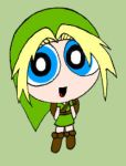 Young Link as Powerpuff by GamingGirl73