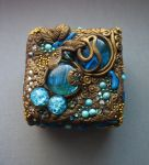 Polymer Clay jewelry boxes by AHHA