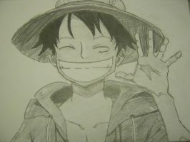 Monkey .D. Luffy - ONE PIECE by kuroko128