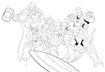 Avengers: Age of Ultron (wip2) by trav-mcdan