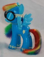 Custom Brushable Wonderbolts Rainbow Dash by Gryphyn-Bloodheart