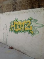 GREEN YELLOW HICAZ by IBYstyle