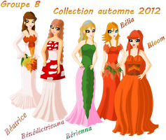 autumn 2012 collection group B by Beatrice-Dragon-Team