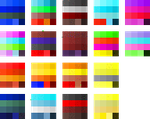Palettes 7 New Palettes by ArtisitcMaster