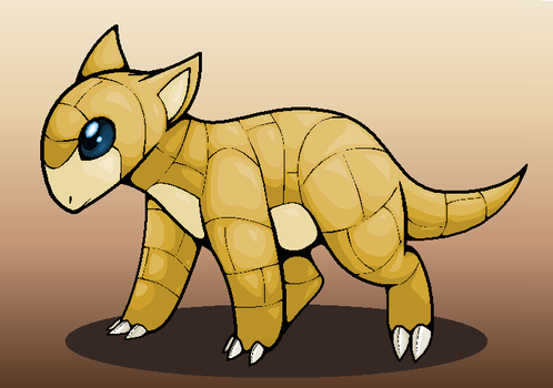 Sandshrew by Dinaria