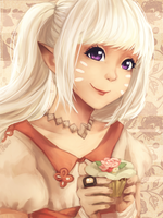 :C:  Lalafell by Wernope