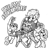 The CMC Attack Mars! by Darkone10