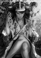 Lady Jim Moriarty by Thewalkingdeadlover0