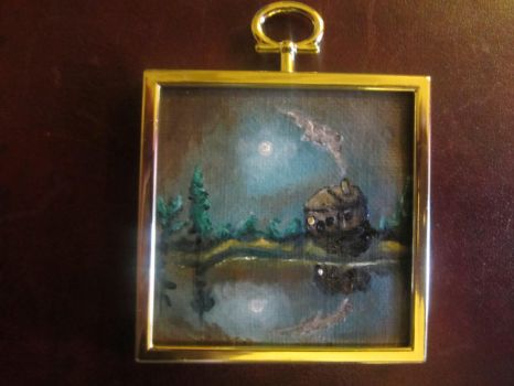 Tiny painting 1 by ChristinaWood