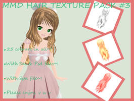 Hair texture pack #3 by Vocapasta