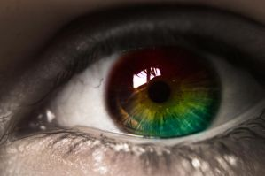 Seeing through my eye by darkHunTer2009