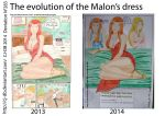 The evolution of the Malon's dress by CJ-DB
