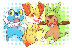 Starters by xMits