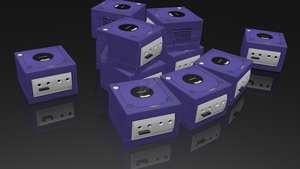 NINTENDO GAMECUBE! Game Cube 3D Render by HomelessGoomba