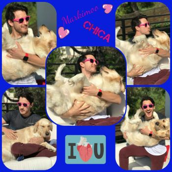 Mark and Chica Collage by CTG22