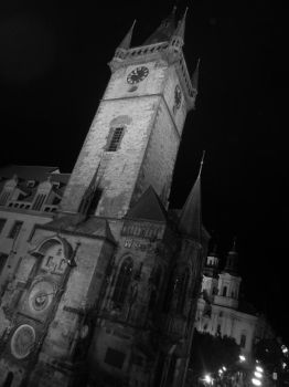 Prague Astronomical Clock by BondFriend