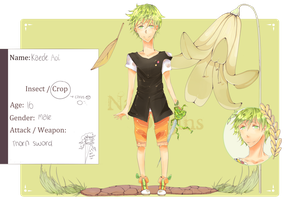 Application for Nature-Origins - Aoi - by NyanMiyaki
