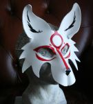 Okami Leather Mask by nondecaf
