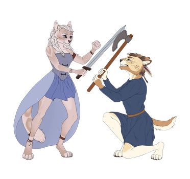 Battle by Lusa-Lusa