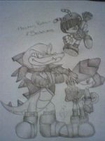 SATBK - Knighted Chaotix by Mew-Mew-Rocky